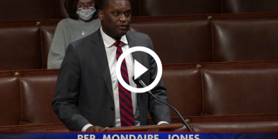 Congressman Mondaire Jones delivers remarks on the House floor in support of making the expanded child tax credit permanent